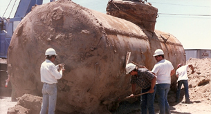 Not even a UST - Rail tank - Removed by Doc Quinn in 1989